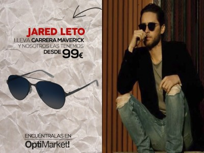 carrera MAVERICK modelo JARED LETO