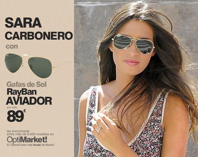 http://www.optimarket.es/wp-content/uploads/2016/04/SARA-CARBONERO-RAYBAN-AVIADOR-1.jpg