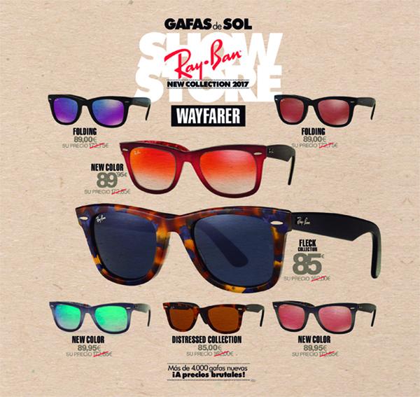 coleccion gafas ray ban 2016