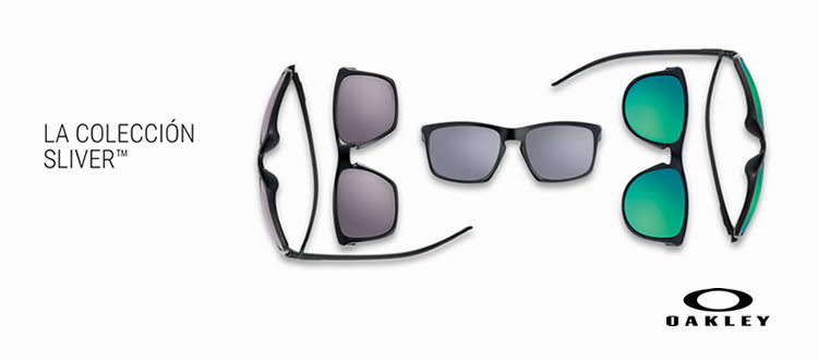 Blog Optimarket » OAKLEY SLIVER: TRES FORMAS, UN ESTILO
